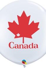 Qualatex 3' CANADA DAY