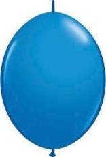 "Qualatex 06"" Quick LINK DARK BLUE 50CT"