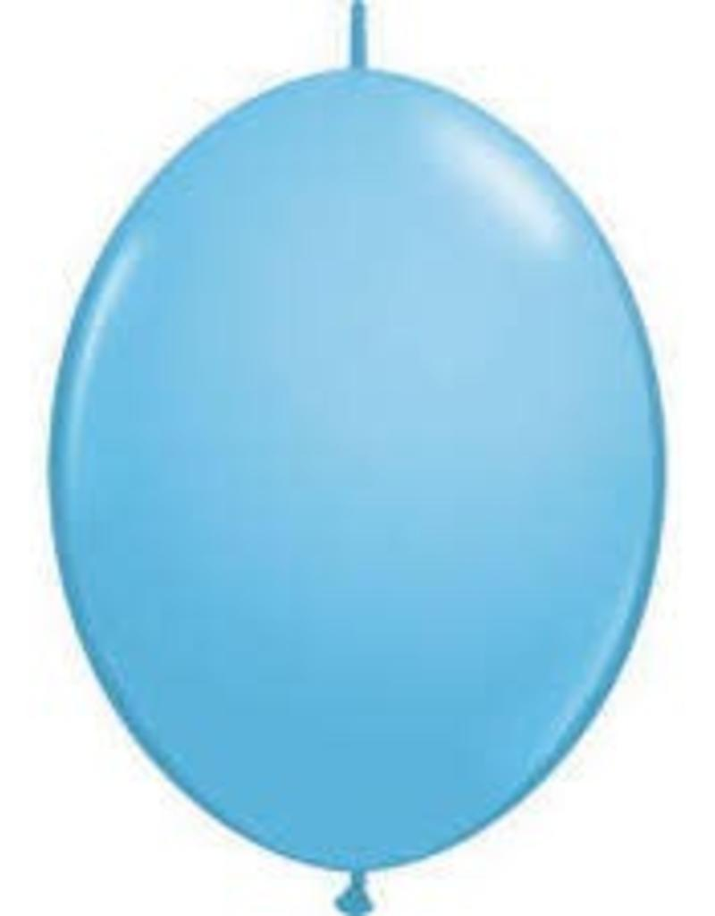 "Qualatex 06"" Quick LINK PALE BLUE 50CT"