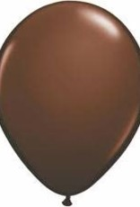 "Qualatex 11"" RND CHOCOLATE BROWN 100CT"