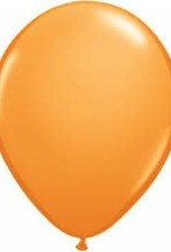 "Qualatex 11"" STANDARD COLOR BALLOONS ORANGE 100ct"