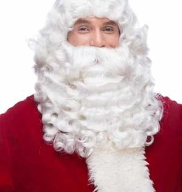 DELUXE SEPIA SANTA SET WIG AND BEARD