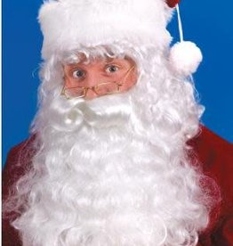 SANTA WIG AND BEARD SET (w/ eyebrows)
