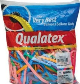 Qualatex 260Q VIBRANT AST 100CT