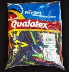 Qualatex 260Q CARNIVAL AST 100CT