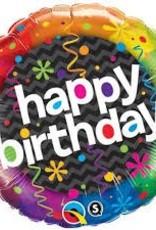 "Qualatex 18"" Birthday Dazzling Party"
