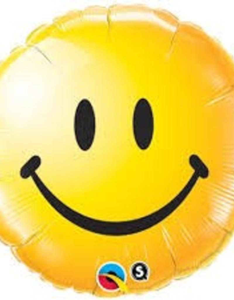"Qualatex 18"" Smiley Face Yellow"