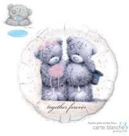 "Qualatex 18"" Tatty Teddy Together Forever"