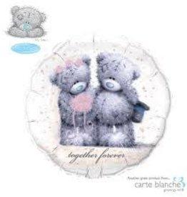 "Qualatex 18"" Tatty Teddy Together Forever"