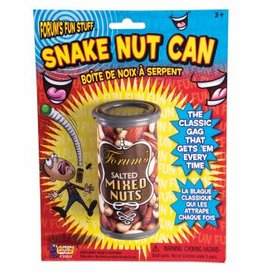Forum Novelties Snake Nuts Can Economy Carded