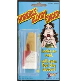 Forum Novelties HORRIBLE BLOODY FINGER