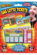 Forum Novelties Gag Lotto Tickets - 5/BC