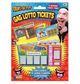 Forum Novelties Gag Lotto Tickets - 5/BC