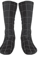 BLACK SPIDER MAN BOOT COVERS