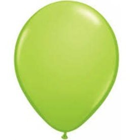 "Qualatex 05"" PEARL LIME GREEN 100CT"
