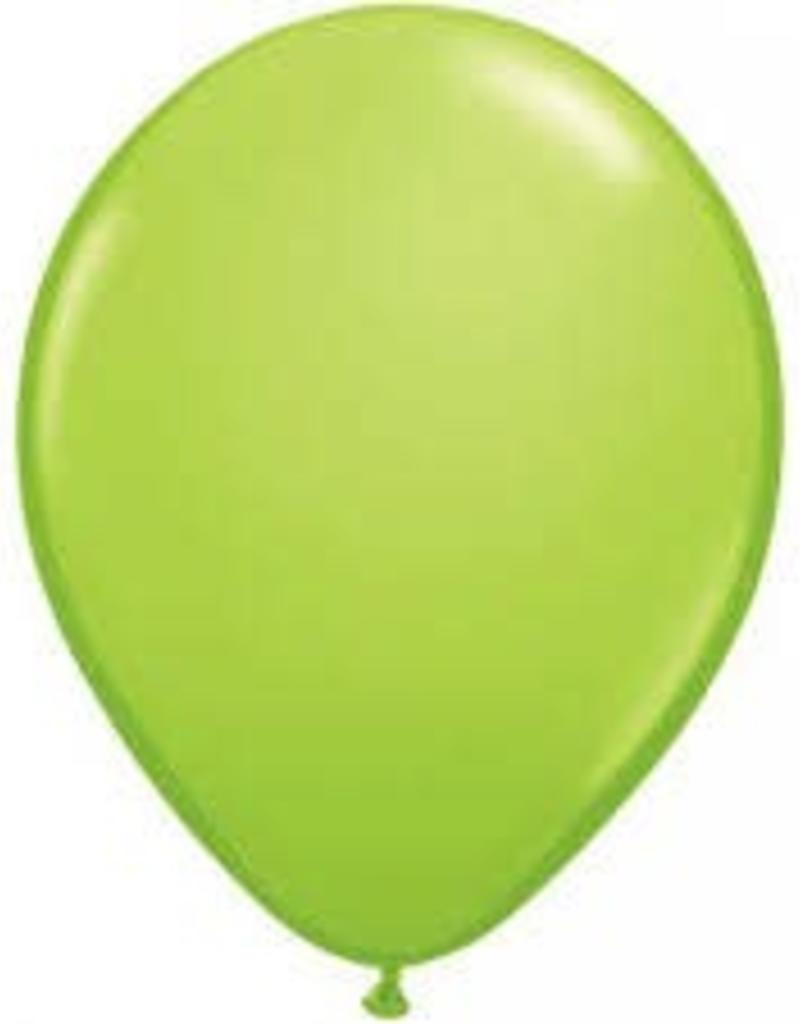 "Qualatex 05"" JEWEL LIME 100CT"