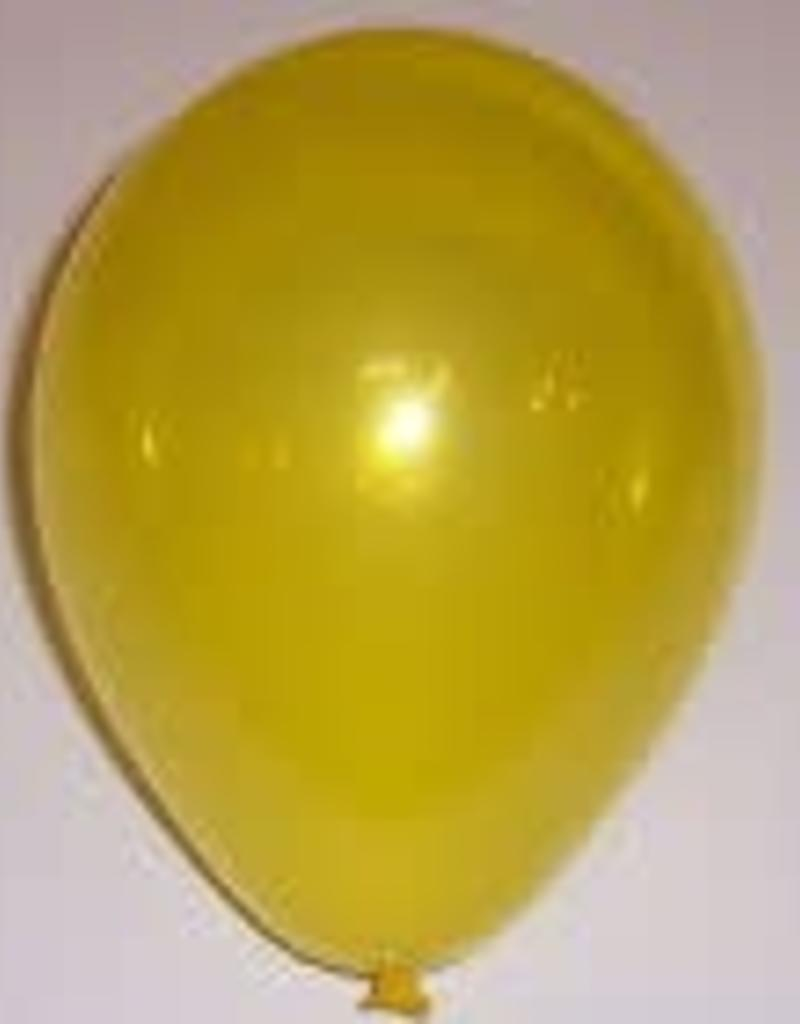 "Qualatex 11"" CITRINE YELLOW 100CT"