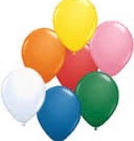 "Qualatex 11"" STANDARD COLOR BALLOONS"