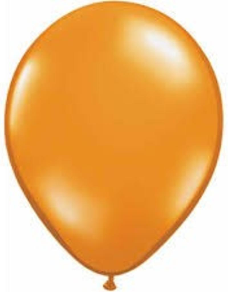 "Qualatex 11"" RND MANDARIN ORANGE 100CT"