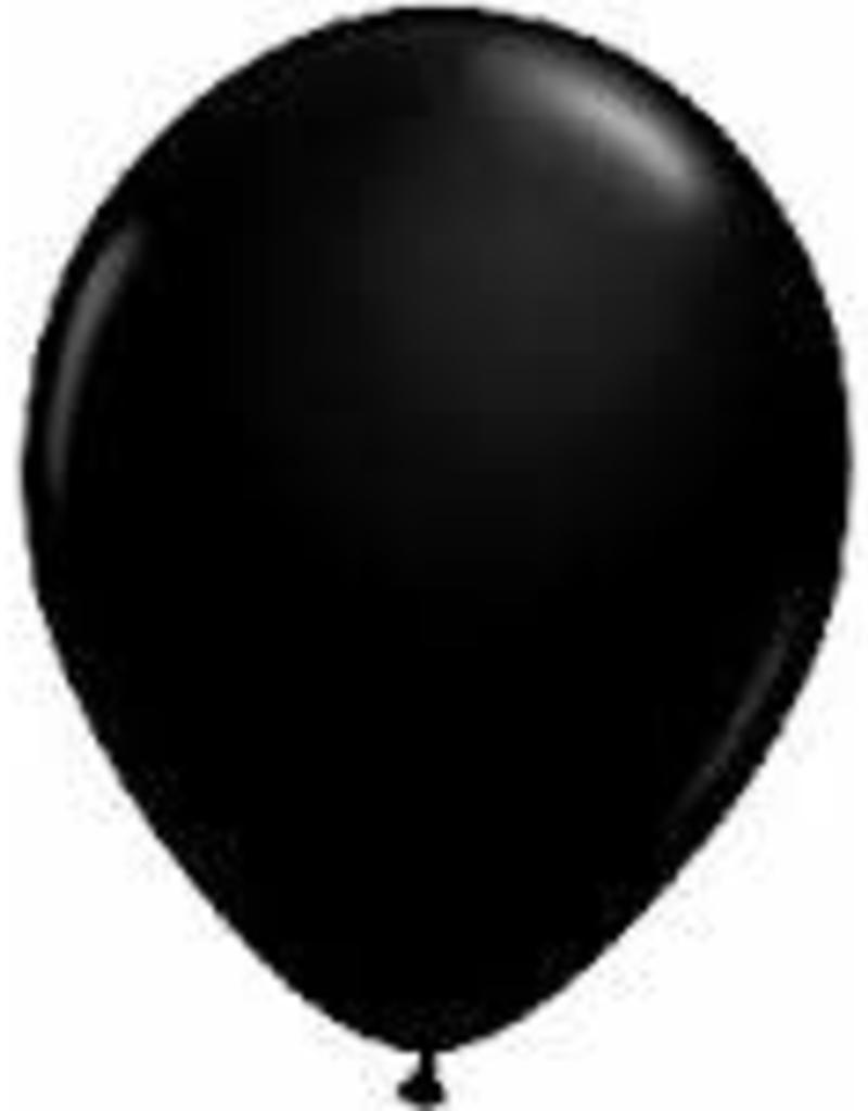 """Qualatex 11"""" RND ONYX BLACK 100CT"""