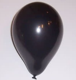 "Qualatex 11"" Pearl Onyx Black 100ct"