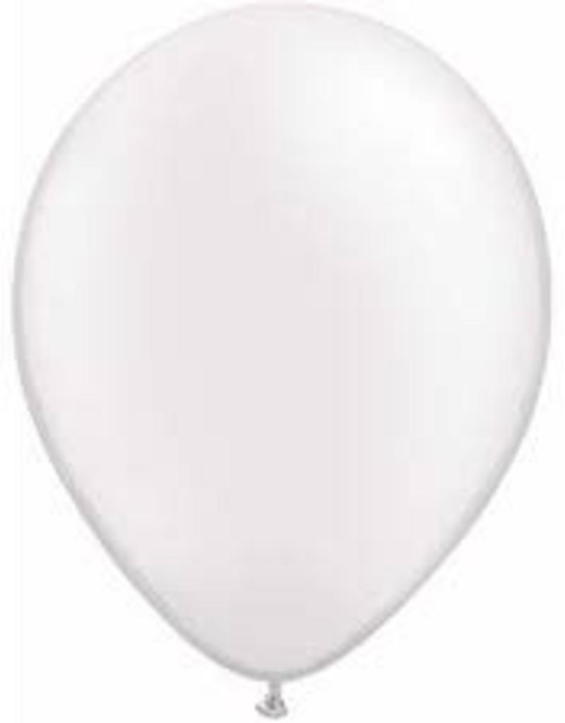 "Qualatex 11"" PEARL WHITE 100CT"