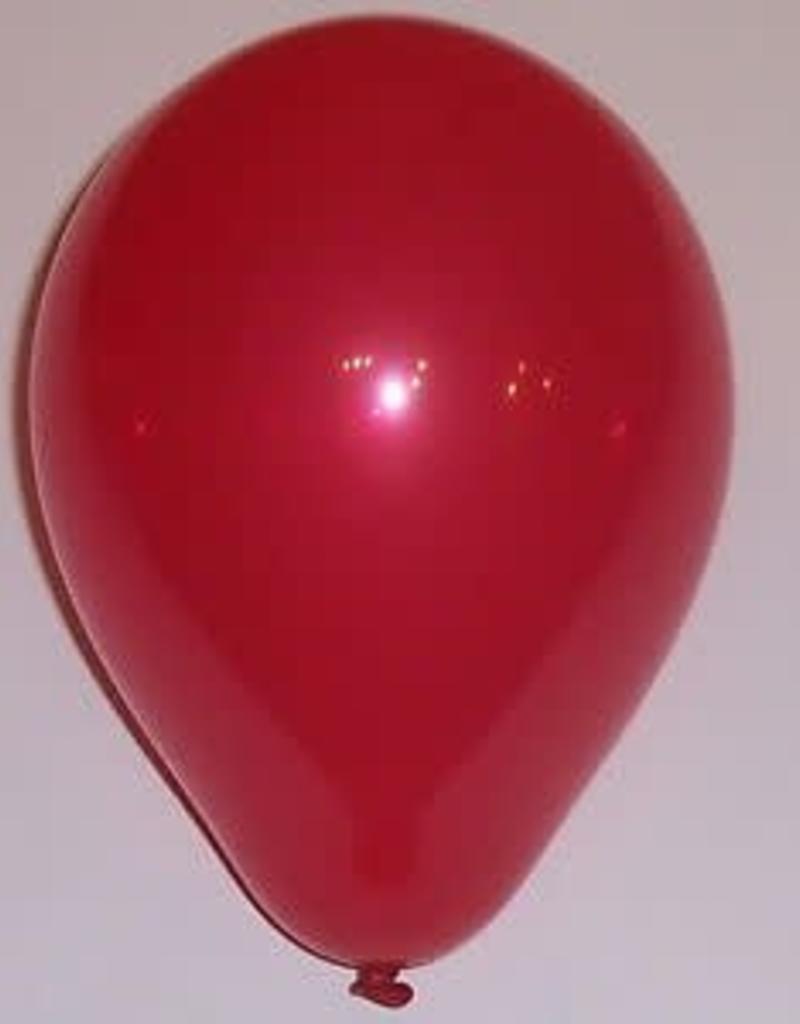 "Qualatex 11"" Jewel Ruby Red 100ct"