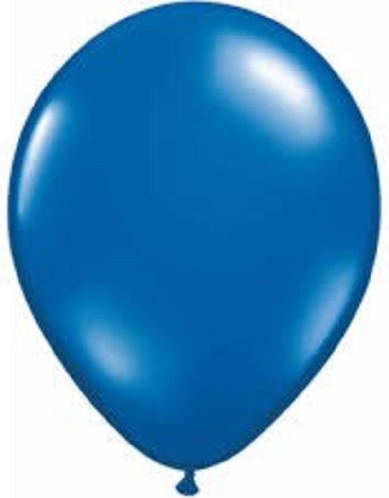 "Qualatex 11"" RND SAPPHIRE BLUE 100CT"