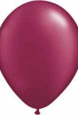 "Qualatex 11"" Sparkling Burgundy 100ct"