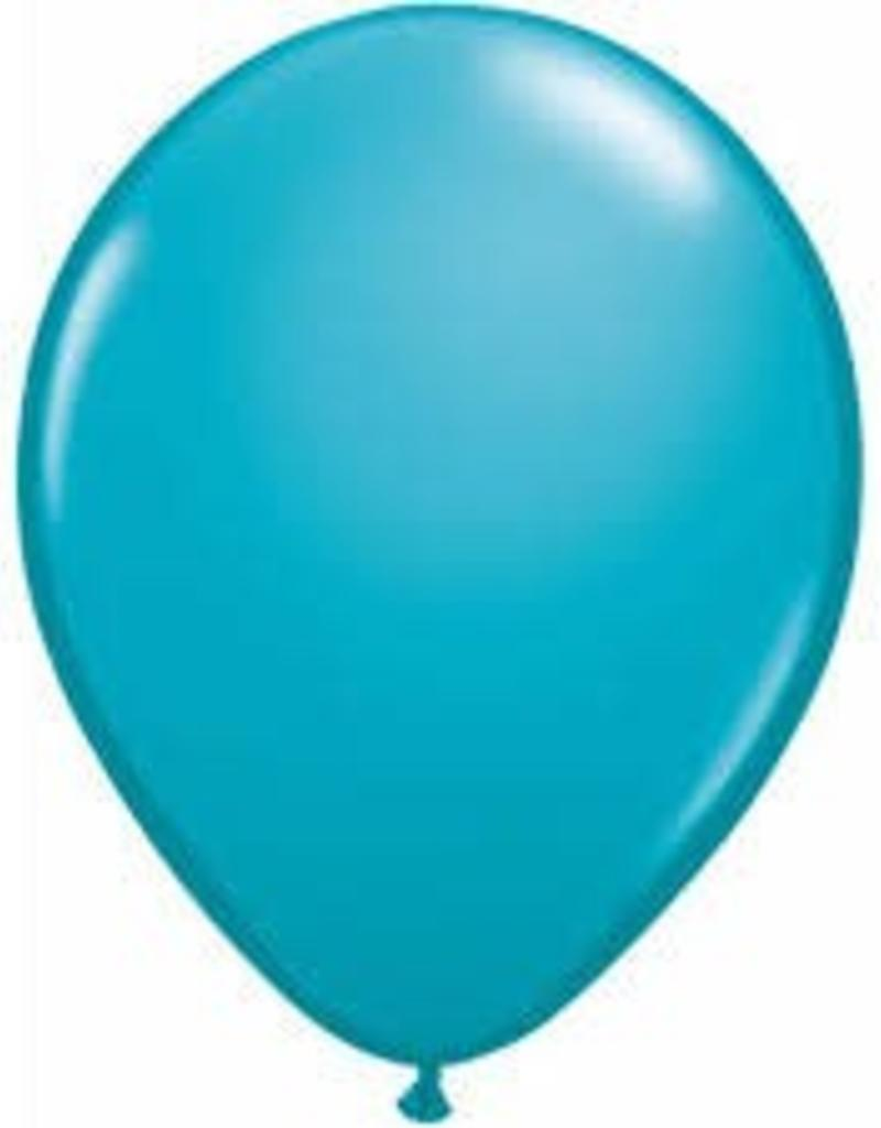"Qualatex 11"" TROPICAL TEAL 100CT"