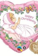 "Qualatex 18"" Precious Moments - Christening Girl"