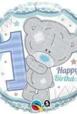 """Qualatex 18"""" Me To You - Tiny Tatty 1st Birthday Boy"""