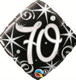 "Qualatex 18"" 70 Elegant Sparkles & Swirls"