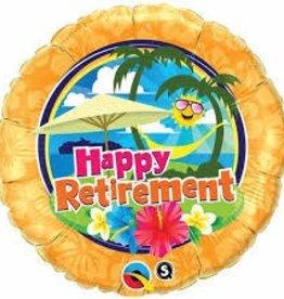"Qualatex 18"" Retirement Sunshine"