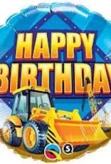 "Qualatex 18"" BIRTHDAY CONSTRUCTION ZONE"