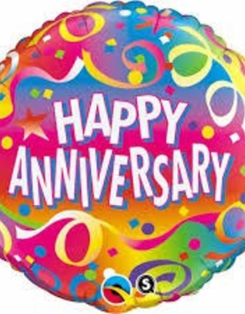 """Qualatex 18"""" Anniversary Confetti"""