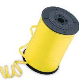 "Qualatex 3/16"" Yellow Ribbon 500yds"