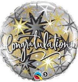 """Qualatex 18"""" Congratulations Elegant"""