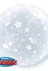 """Qualatex 20"""" DECO BUBBLE Stars All Around"""
