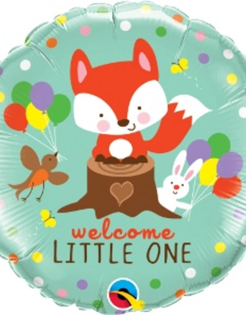 """Qualatex 18"""" WELCOME LITTLE ONE"""