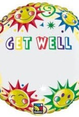 "Qualatex 18"" Get Well Just Write"