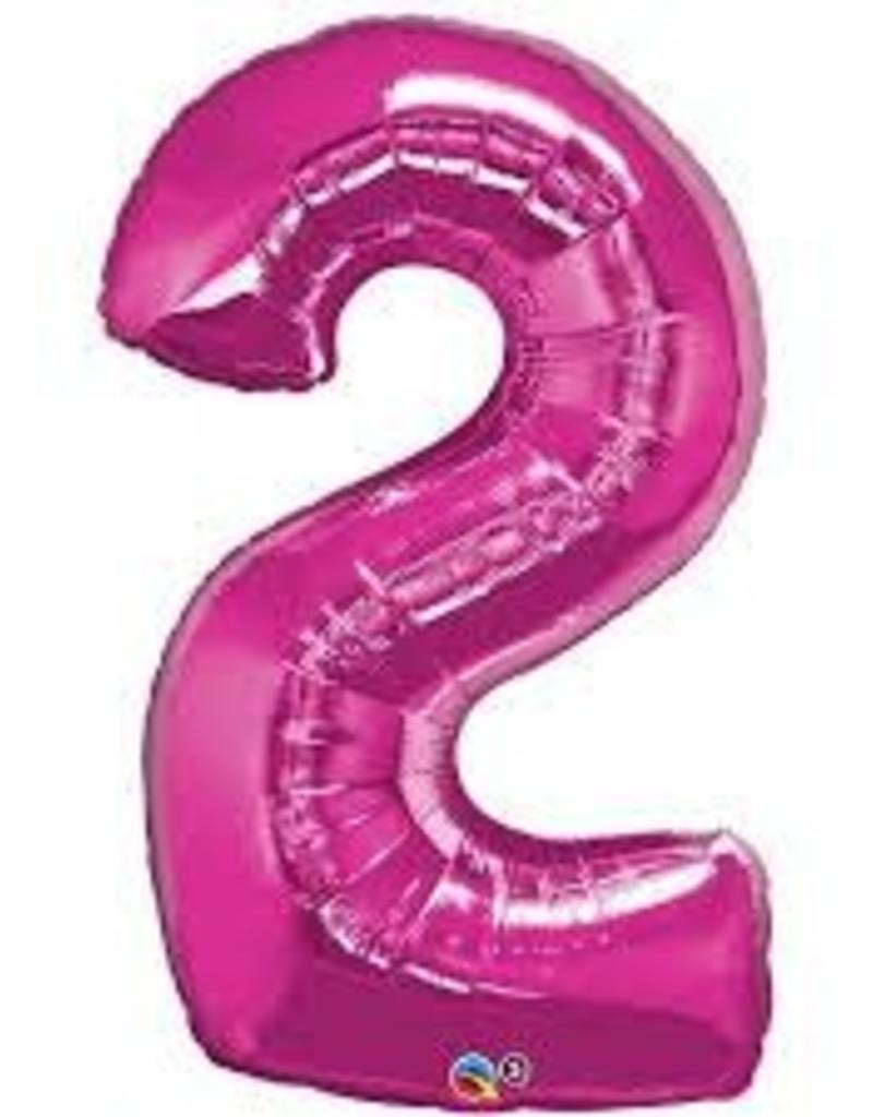 """34"""" Number Two - Magenta"""