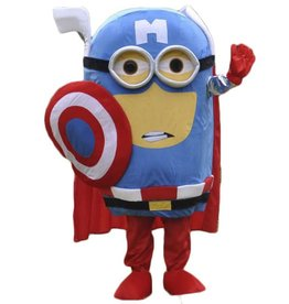 RENTAL MINION CAPTAIN AMERICA look alike