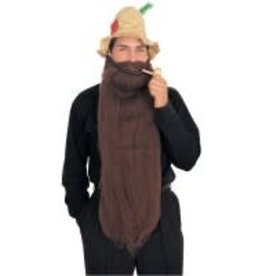 "Rubies Costumes 25"" LONG BEARD- BROWN"