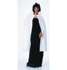 "Rubies Costumes 45"" WHITE HOODED CAPE"