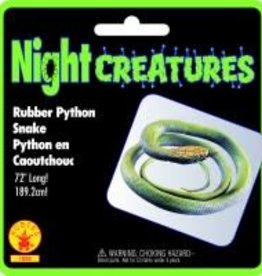 """Rubies Costumes 72""""RUBBER PYTHON SNAKE"""