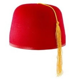 Rubies Costumes DURASHAPE FEZ HAT- RED