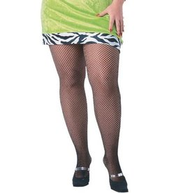 Rubies Costumes PLUS SIZE NETBLACK TIGHTS