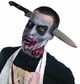 Rubies Costumes ZOMBIE KITCHEN KNIFE THRU HEAD