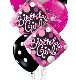 Birthday Girl Bouquet set